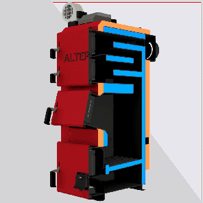 Котел длительного горения Альтеп DUO PLUS (КТ-2Е) 17 кВт., фото 2