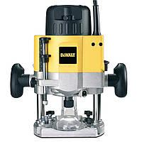 Фрезер DeWalt DW626, 2300 Вт, цанга 8-12 мм, 8000-21000 об/мин, электроника, пар.упор, кейс.