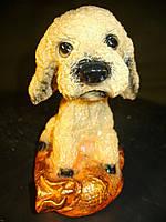 Собачка Пудель 18 см. Фигурка символ года