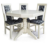 Комплект стол и стулья Венеция