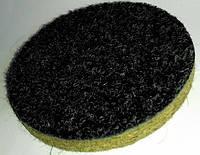 Круг войлочный с липучкой 150х10 полировальный  для УШМ с грубошерстным войлоком