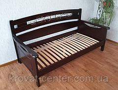 """Деревянная полуторная кровать  """"Премиум"""", фото 2"""