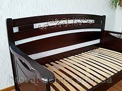 """Деревянная полуторная кровать  """"Премиум"""", фото 3"""