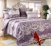 Комплект постельного белья ТМ TAG двухспальный, постельное белье двухспальное Шанте