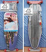 Гладильная доска Alberta Delux 120х44 см с розеткой