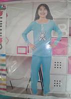 """Детская пижама """"Dalmina kids"""", 4-14 лет,на байке,Турция"""