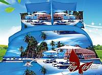 Комплект постельного белья ТМ TAG двухспальный, постельное белье двухспальное MS-CY16054