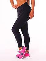 """Спортивные женские легинсы  """"Classic"""" c широким поясом, леггинсы для бега, лосины для йоги, фитнеса"""