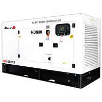 Дизельный генератор (электростанция) Matari MDN80, 110 кВА/88 кВт, трехфазный, дв.Deutz, автоматика