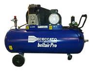 Масляный трехфазный компрессор Ceccato B5900B/200 CT5.5, 4 кВт, 653 л/мин, 11 бар, ресивер-200 л, 164 кг