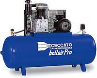 Масляный трехфазный компрессор Ceccato B6000/500 FT7.5, 7,5 кВт, 827 л/мин, 11 бар, ресивер-500 л, 260 кг