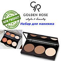 Набор для макияжа 3в1 Golden Rose