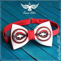Галстук - бабочка капитан Америка, фото 1