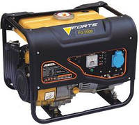 Бензиновый генератор (электростанция) Forte FG2000, 1,5 кВA, дв.Forte, ручной пуск