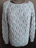 Женские вязанные кофты с красивым узором, фото 2