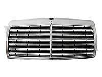 Mercedes W124 85-93 тюнинг решетка центральная между фар радиаторная