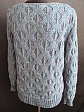 Женские вязанные кофты с красивым узором, фото 5