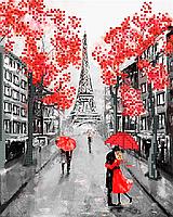Схема для вишивки Вуличка Парижа (серія робіт)