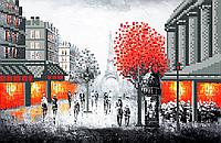Схема для вишивки Вечір в Парижі (серія робіт)