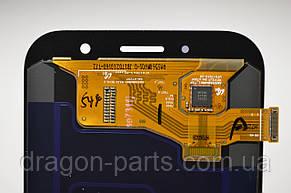 Дисплей Samsung A720 Galaxy A7 с сенсором Черный Black оригинал , GH97-19723A, фото 3