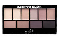 Набор теней для век Malva Cosmetics Eye Shadow Set Secret World (М-460-6) № 06