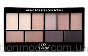 Набор теней для век Malva Cosmetics Eye Shadow Set Secret World (М-460-6) № 06