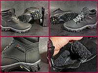 Детские подростковые зимние ботинки Ecco 2 модель не промокают толстая кожа, 35-39