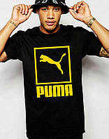 Мужская футболка с принтом пума,puma