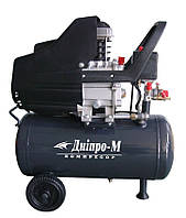 Поршневой воздушный компрессор Дніпро-М ПВК24-2, 1,5 кВт, 150 л/мин, 8 бар, ресивер-24 л, 24 кг