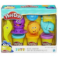 Игровой набор пластилина Play-Doh Подводный мир. Оригинал Hasbro