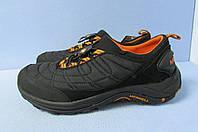 Мужские термо кроссовки Merrell 110747 черный с оранжевым (лицензия) код 0795А
