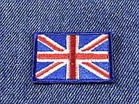 Нашивка флаг Великобритании (Great Britan) 44х30мм