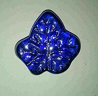Декоративный стеклянный камень, Листик