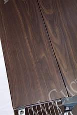 Столик складной сервировочный с ярусом для бутылок «Темный орех» 0201-U, фото 2