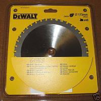 Пильный диск по металлу DeWalt DT1210, 40 зубъев, 173х20мм, 0 град