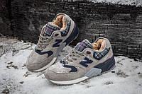New Balance 999 Winter Tartan С МЕХОМ. Зимние кроссовки. Мужские утепленные кроссовки. Теплые кроссовки.