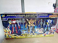 Space Robot 3 шт. в наборе (127х54х9см)