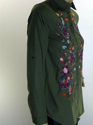 Жіноча сорочка  з вишивкою Saloon, фото 2