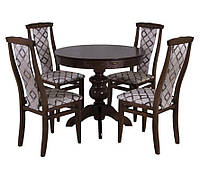Комплект стол и стулья Афины-4