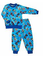 Махровая пижама - домашний комплект для мальчика