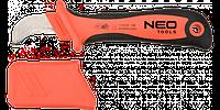Нож монтерский изогнутый с пяткой для снятия изоляции. Neo .1000 В 190 мм