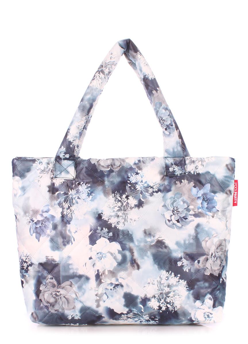 Дутая женская сумка из ткани POOLPARTY