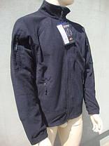 Кофта Helikon Alpha Tactical Grid Fleece Jacket Black S, М, L, XL, XXL (BL-ALT-FG-01), фото 2