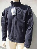 Кофта Helikon Alpha Tactical Grid Fleece Jacket Black S, М, L, XL, XXL (BL-ALT-FG-01), фото 3
