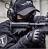 Кофта Helikon Alpha Tactical Grid Fleece Jacket Black S, М, L, XL, XXL (BL-ALT-FG-01), фото 6