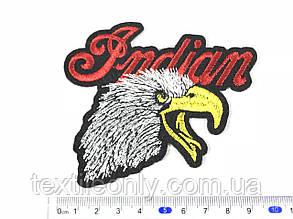 Нашивка Орел Indian 100x88 мм, фото 2