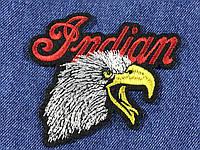 Нашивка Орел Indian 100x88 мм