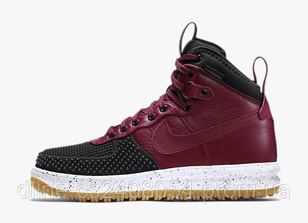Nike Lunar Force Duckboot Red Black