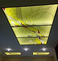 Потолки из стекла на заказ Киев, купить