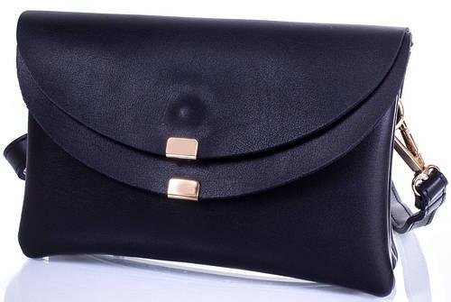 Стильная женская сумка-клатч ETERNO ETK782-6, кожзаменитель, цвет синий.